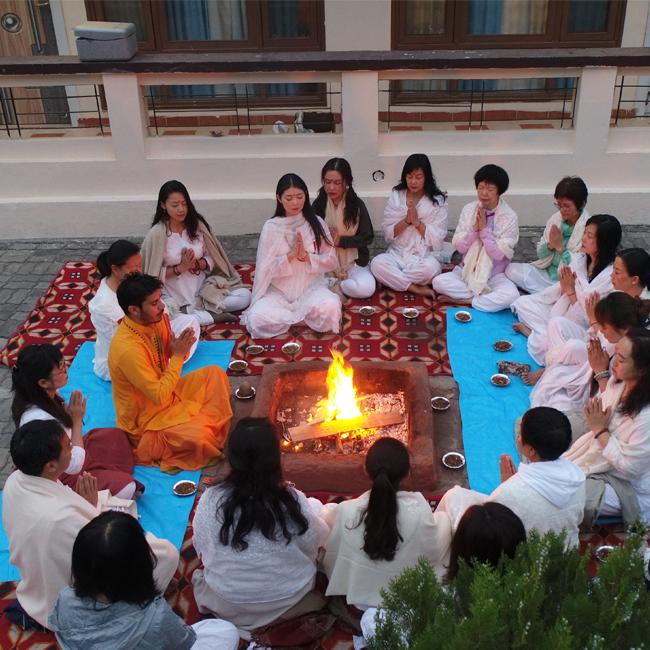 29 Days 200 hour beginners Yoga Teacher Training in Rishikesh, India