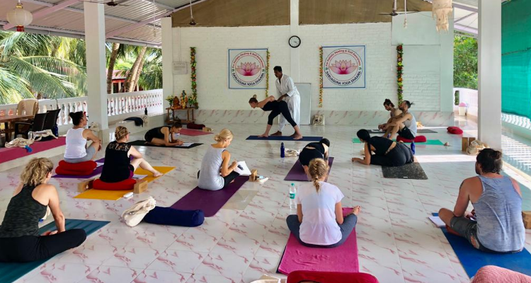 300 hour Hatha and Vinyasa Yoga Teacher Training in Goa, India