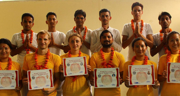 Residential 300-hour Yoga Teacher Training Course in Rishikesh, India