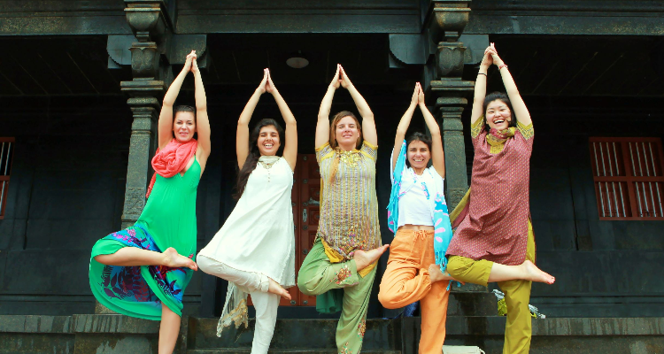 Basic and Advanced 200 - hour Yoga Teacher Training in Pachaloor Kerala India