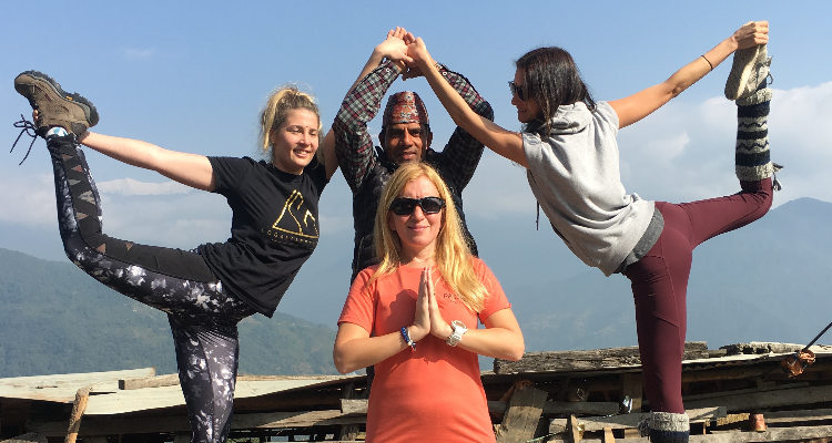 5 Day Peaceful Yoga Retreat in serene, beautiful Nepal. Find peace of mind.