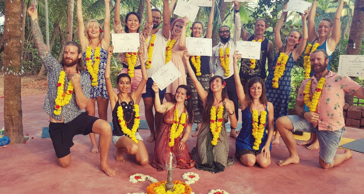 21 Days 200 Hour Ashtanga Yoga Teacher Training Course in Goa, India