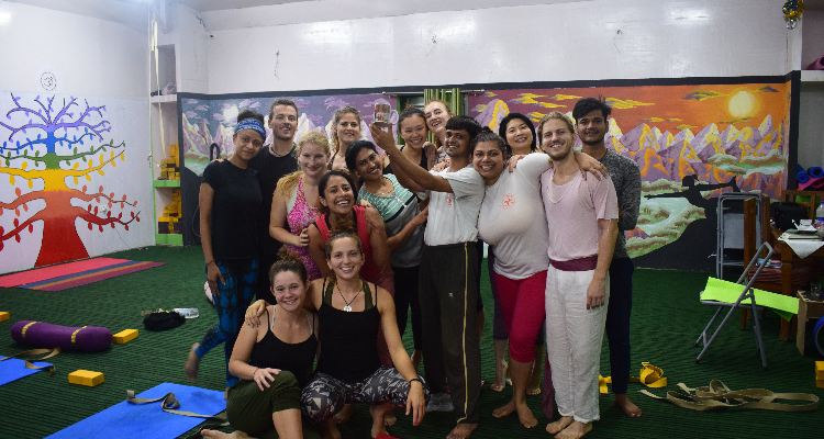 29 Day 300hr Vinyasa-Ashtanga Yoga Teacher Training in Rishikesh