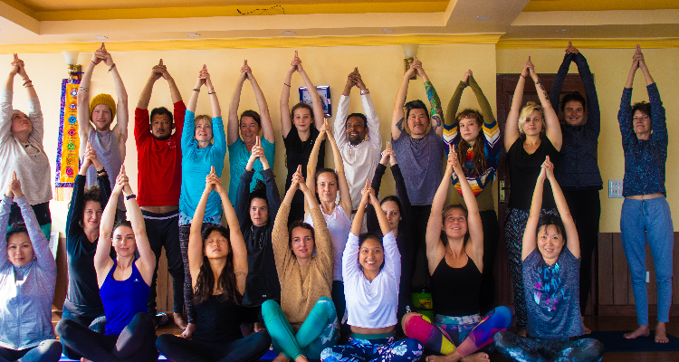 21 days 200 hours Hatha/Astanga Certified Yoga Teacher Training in Nepal