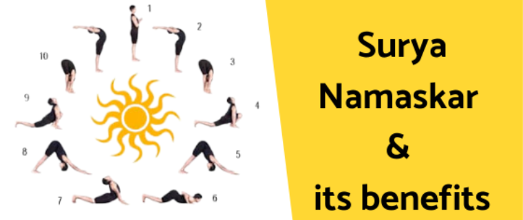 All about Surya Namaskar and its Benefits