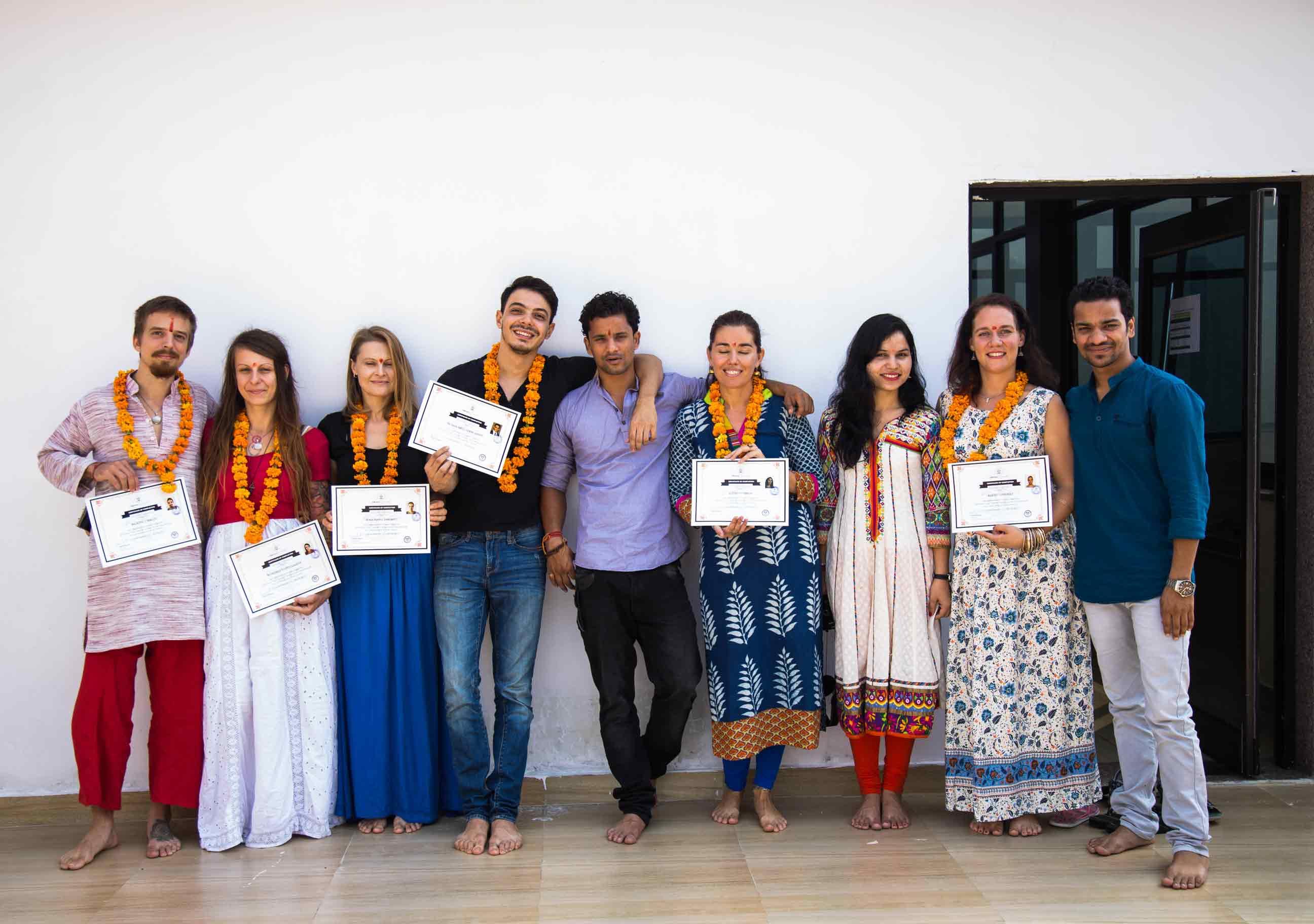 200 hours Hatha and Vinyasa yoga teacher training in Rishikesh