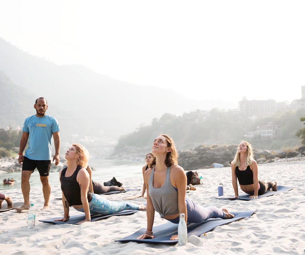 28 Days 200 - hour International Yoga Teacher Training in Rishikesh, India