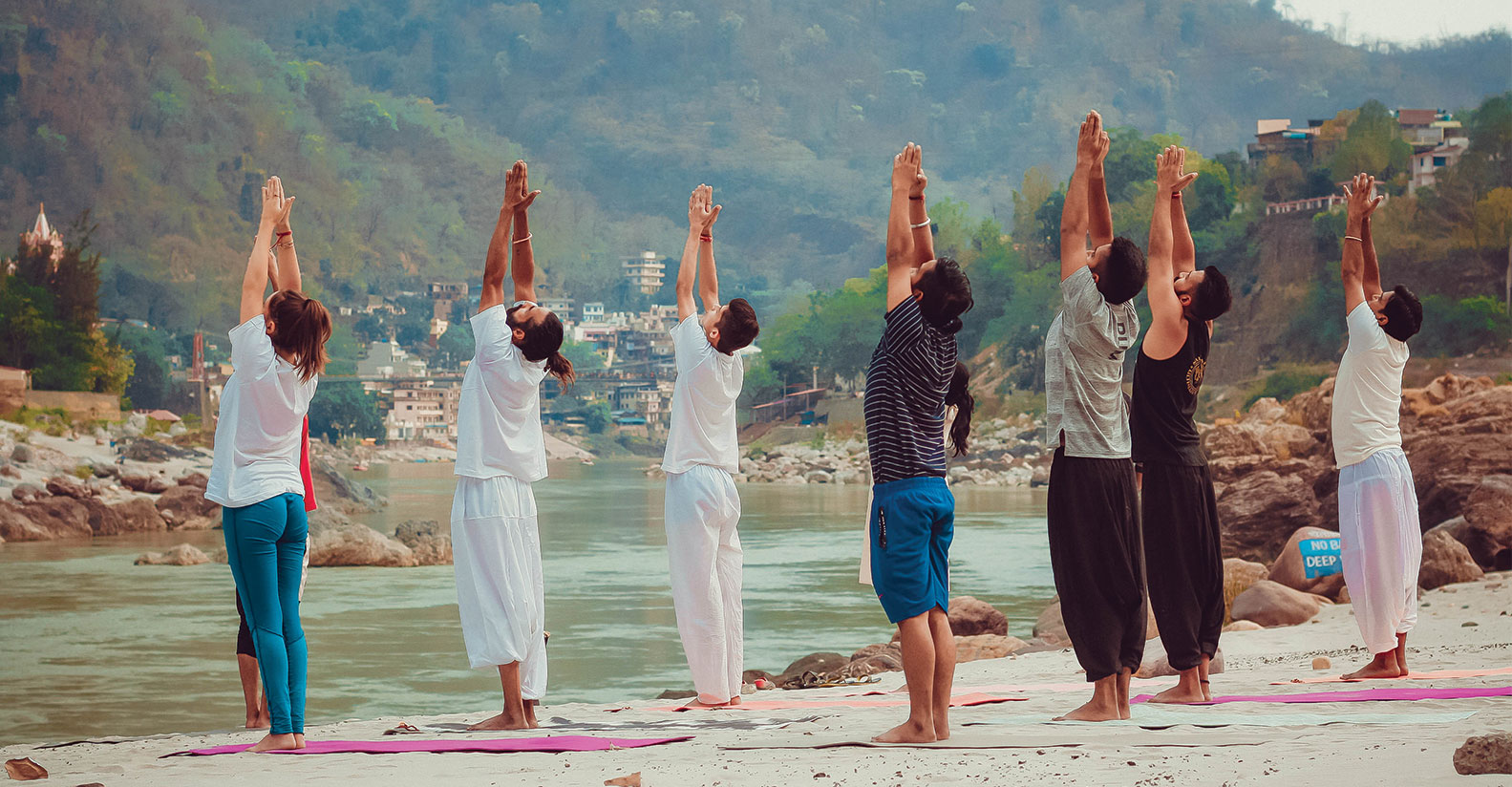 26-Days: 200 Hours Yoga Teacher Training Course in Rishikesh, India.